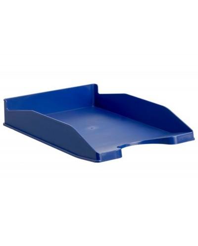 Bandeja sobremesa archivo 2000 antimicrobiana sanitized plastico azul apilable 3 posiciones para formatos din
