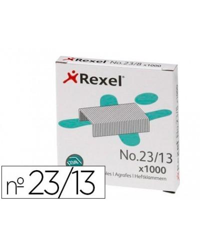 Grapas rexel 23 13 acero caja 1000 unidades