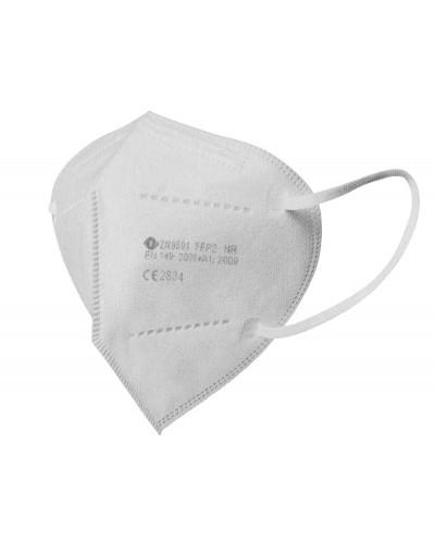 Mascarilla facial ffp2 gris plata autofiltrante con certificado ce
