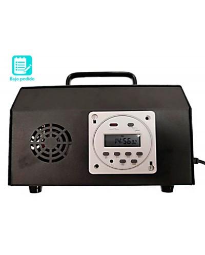 Maquina generadora de ozono para desinfeccion espacios hasta 180 m2 17 programas 10000 mg h 200x125x125 mm