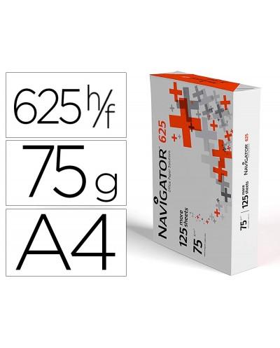 Papel fotocopiadora navigator 625 din a4 75 gramos paquete de 625 hojas