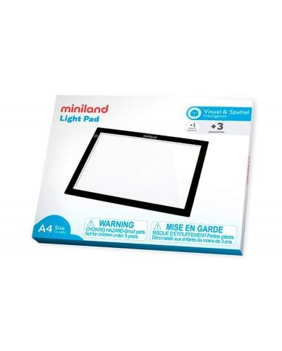 Mesa de luz miniland ligera y comoda de transportar a cualquier lugar formato a4