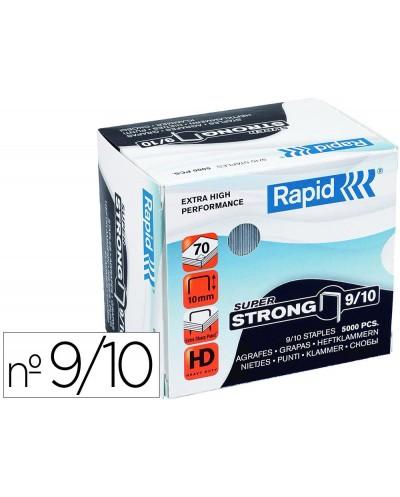 Grapas rapid super strong galvanizadas nº9 10 caja de 5000 unidades