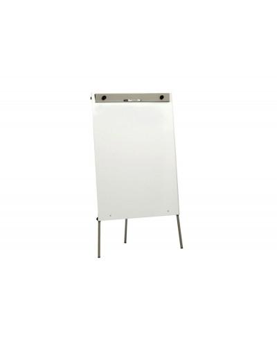 Pizarra blanca rocada rd 600 superficie melamina caballete con tripode 100x70x180 cm
