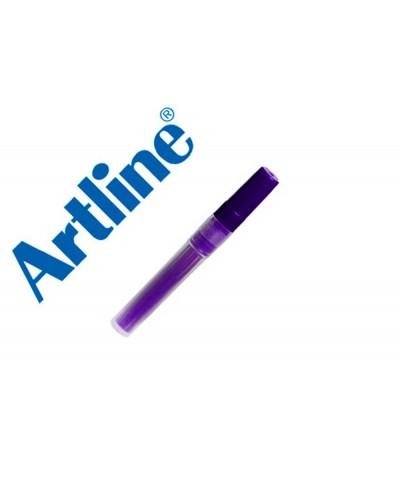 Recambio rotulador artline ek 63r clix fluorescente violeta