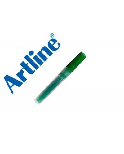 Recambio rotulador artline ek 63r clix fluorescente verde