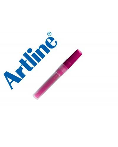 Recambio rotulador artline ek 63r clix fluorescente rosa