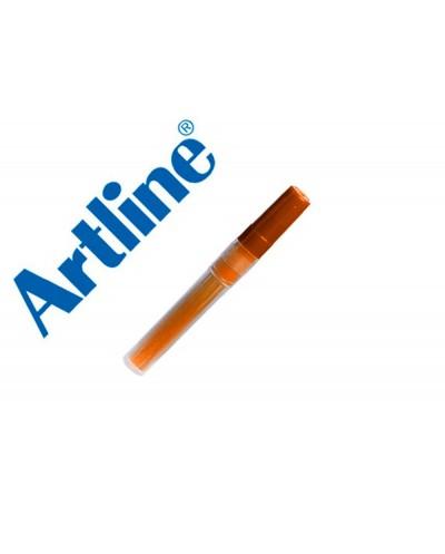 Recambio rotulador artline ek 63r clix fluorescente naranja