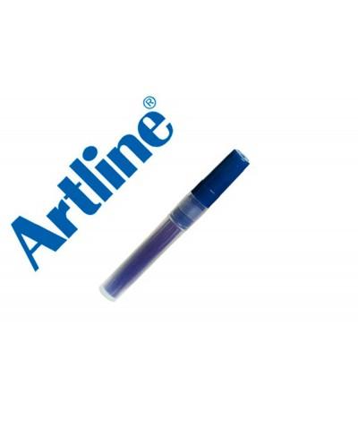 Recambio rotulador artline ek 63r clix fluorescente azul