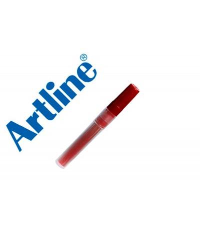 Recambio rotulador artline clix permanente ek 73 rojo