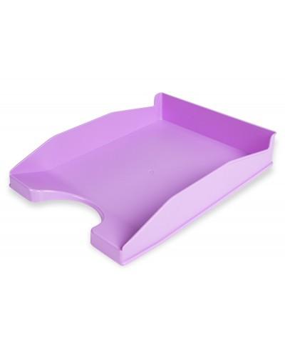 Bandeja sobremesa plastico q connect lavanda opaco