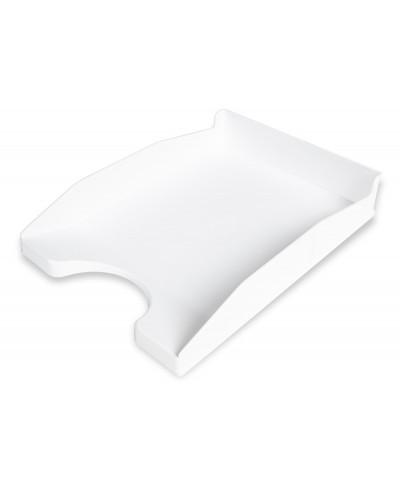 Bandeja sobremesa plastico q connect blanco opaco