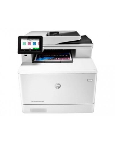 Equipo multifuncion hp laserjet color pro mfp m479fdn 27 ppm a4 impresora copiadora usb 20 lan bandeja