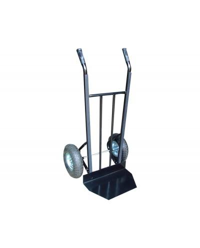 Carretilla portapaquetes con ruedas plegable carga de 250 kg 1225x557x625 mm