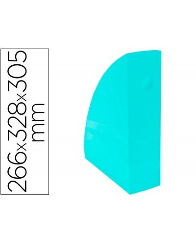 Revistero exacompta aquarel mag cube verde pastel