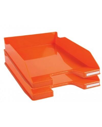 Bandeja sobremesa exacompta combo 2 classic mandarina 347x255x65 mm