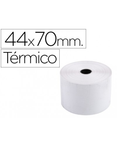 Rollo sumadora exacompta termico 44 mm x 70 mm 55 g m2 sin bisfenol a