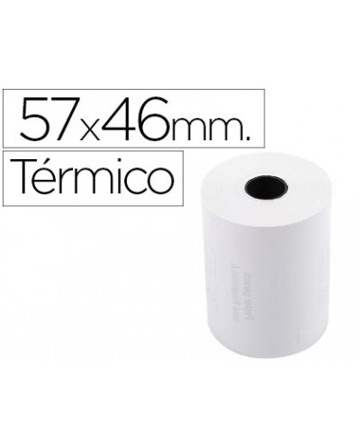 Rollo sumadora exacompta termico 57 mm x 46 mm 55 g m2 sin bisfenol a