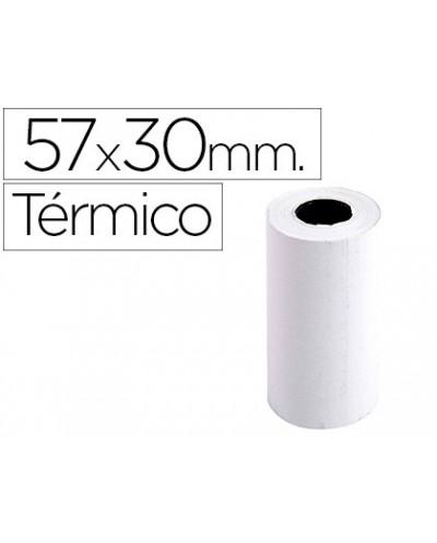Rollo sumadora exacompta termico 57 mm x 30 mm 55 g m2 sin bisfenol a