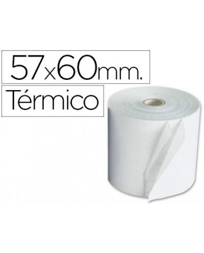 Rollo sumadora exacompta termico 57 mm x 60 mm 55 g m2 sin bisfenol a