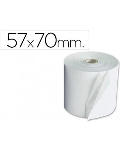 Rollo sumadora exacompta electro 57 mm x 70 mm 60 g m2