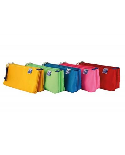 Portatodo escolar oxford portatodo kangoo kids doble colores surtidos 220x50x100 mm