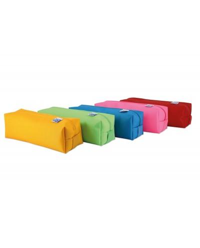 Portatodo escolar oxford portatodo kangoo kids cuadrado grande colores surtidos 220x80x70 mm