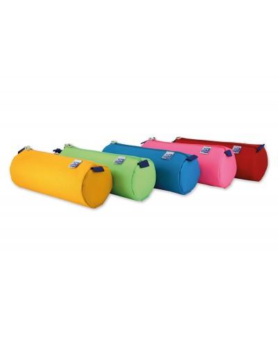 Portatodo escolar oxford portatodo kangoo kids redondo grande colores surtidos 220x70x90 mm