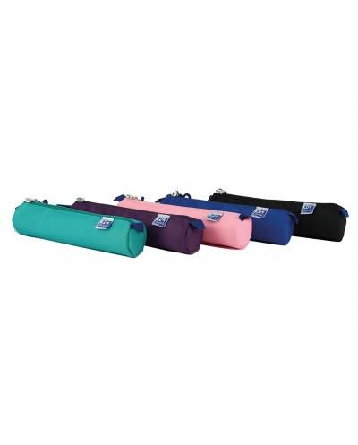 Bolso escolar oxford portatodo kangoo teens redondo pequeno colores surtidos 220x45x45 mm