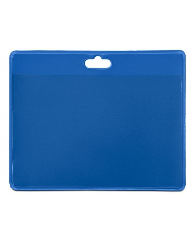 Identificador tarifold pvc horizontal color azul solo tarjeta 103x825 mm pack de 30unidades