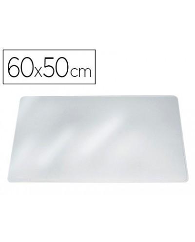 Vade sobremesa durable transparente antirreflectante 65x50 cm
