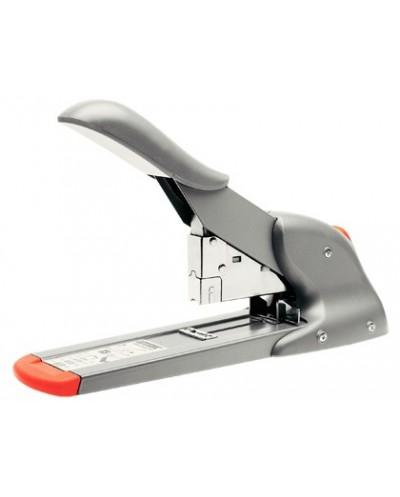 Grapadora rapid fashion hd110 plata naranja capacidad 110 hojas usa grapas 9 8 14 y 23 8 15