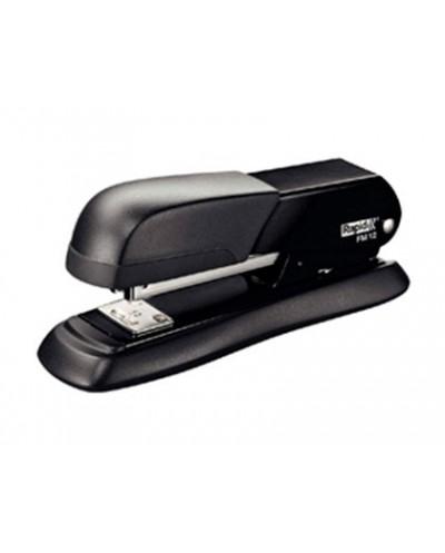 Grapadora rapid fm12 metalica color negro capacidad 25 hojas usa grapas 24 6 y 26 6