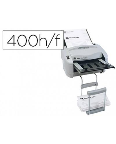 Plegadora de papel martin yale 7200 electrica para formatos din a4 y din a5 hasta 4000 hojas por hora