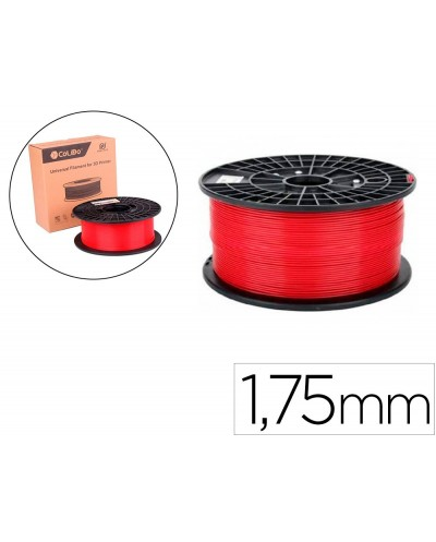 Filamento 3d colido abs premium 175 mm 1 kg rojo