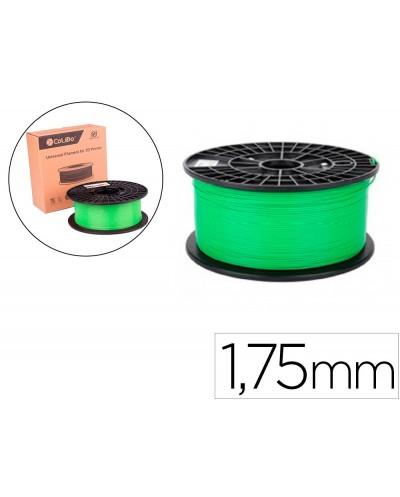 Filamento 3d colido abs gold 175 mm 1 kg verde