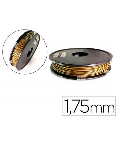 Filamento 3d colido pla 175 mm 05 kg bronce