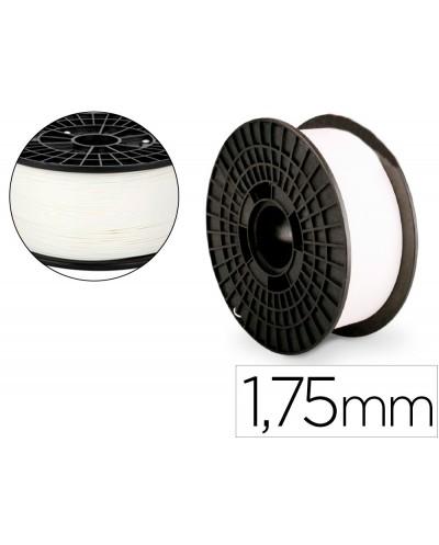 Filamento 3d colido pla nylon 175 mm 1 kg blanco