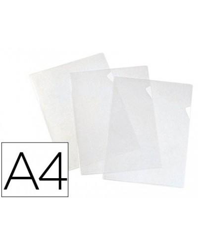 Carpeta dossier unero elba standard folio plastico 140 mc piel naranja caja de 100 unidades