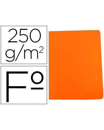 Subcarpeta cartulina gio simple intenso folio naranja 250g m2