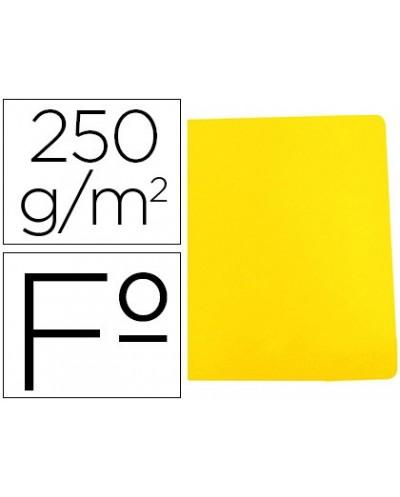 Subcarpeta cartulina gio simple intenso folio amarillo 250g m2