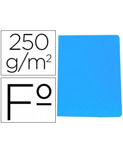 Subcarpeta cartulina gio simple intenso folio azul 250g m2
