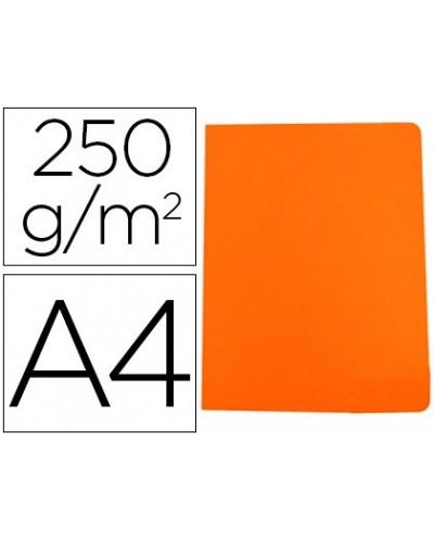 Subcarpeta cartulina gio simple intenso din a4 naranja 250g m2