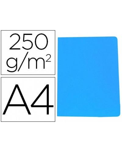 Subcarpeta cartulina gio simple intenso din a4 azul 250g m2