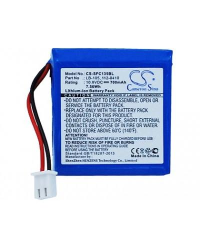 Bateria de litio safescan lb 105 recargable para safescan 155 s