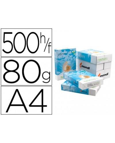 Papel fotocopiadora nautilus superwhite 100 reciclado din a4 80 gramos paquete de 500 hojas