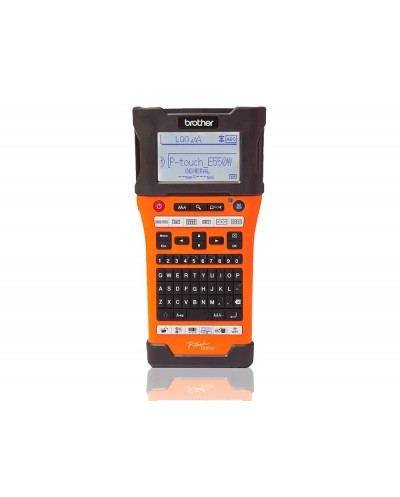 Rotuladora brother p touch impresion termica 180x360 dpi lcd 3 lineas bateria ion litio wifi