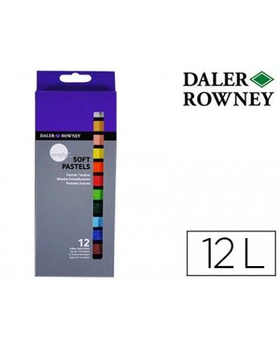 Lapices pastel oleo daler rowney simply suave caja de 12 colores surtidos