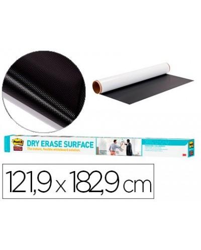 Pizarra blanca post it super sticky rollo adhesivo removible 1219x1829 cm