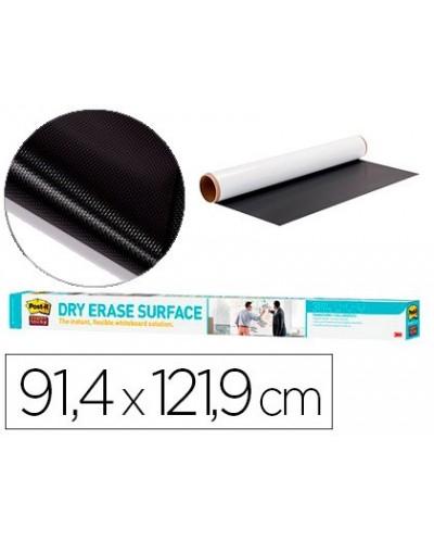 Pizarra blanca post it super sticky rollo adhesivo removible 914x1219 cm